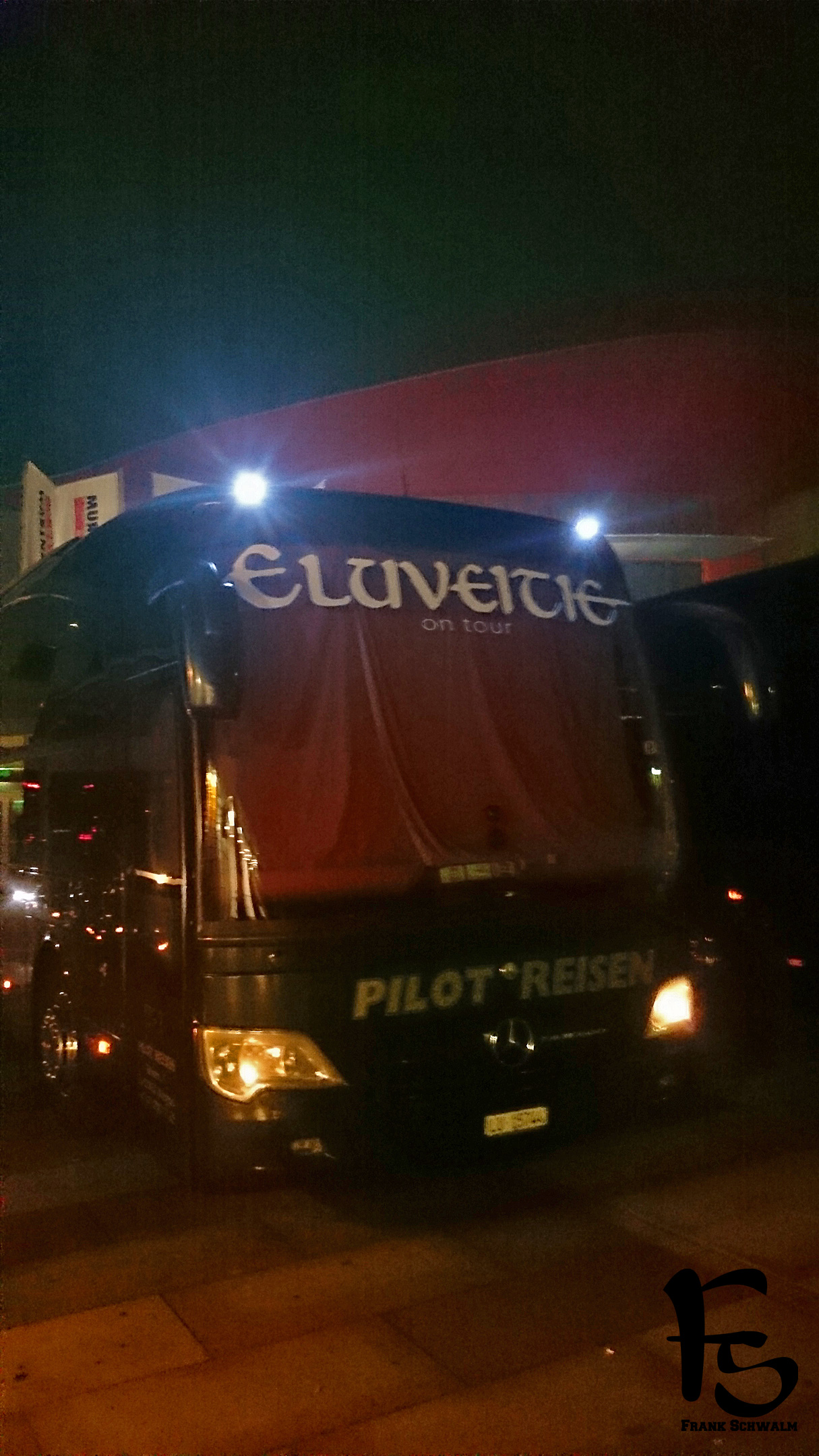Eluveitie Tour Tourbus