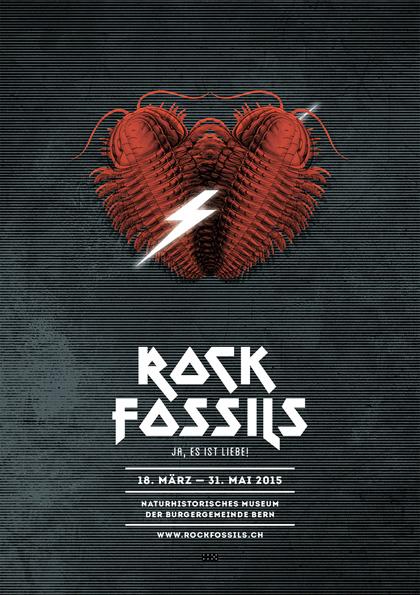 Plakat Rock Fossils Eluveitie Akustik Naturhistorisches Museum Bern