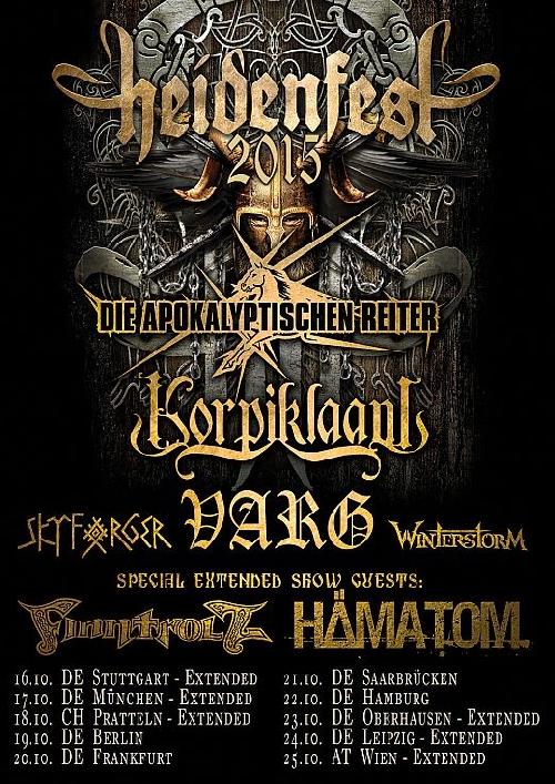 Heidenfest Tour Varg