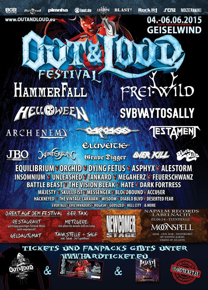 Out & Loud Festival Geiselwind Tour