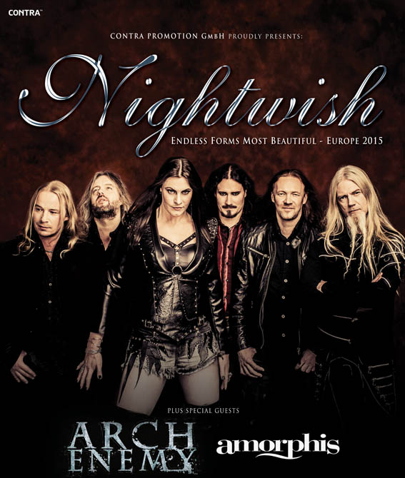 Nightwish Arch Enemy Tour